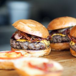 Burger Bratling aus Kidney Bohnen