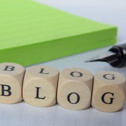 Aufbau des Blogs